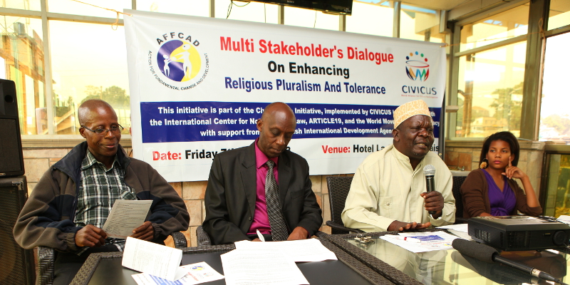 AFFCAD Multistakeholder Dialogue in Uganda