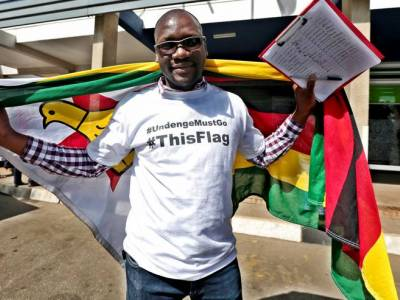 """Zimbabwe: CIVICUS urges release of #ThisFlag Pastor Mawarire, detained and charged with """"treason"""""""
