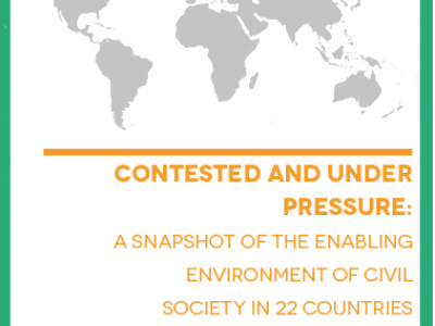 """Civil Society """"Contested and Under Pressure"""", says new report"""