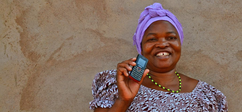 Using mobile technology to listen to all the voices - courtesy of Africa's Voices