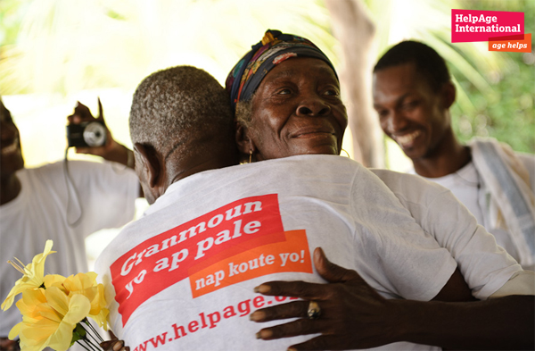 HelpAge serves senior citizens and is looking to strengthen its data analysis - courtesy of HelpAge