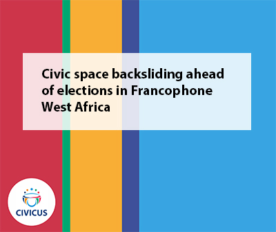 West Africa Report on Civic Space 2020