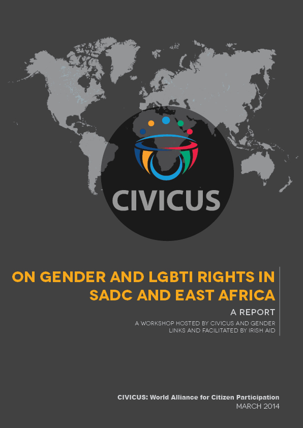 LGBTI report cover
