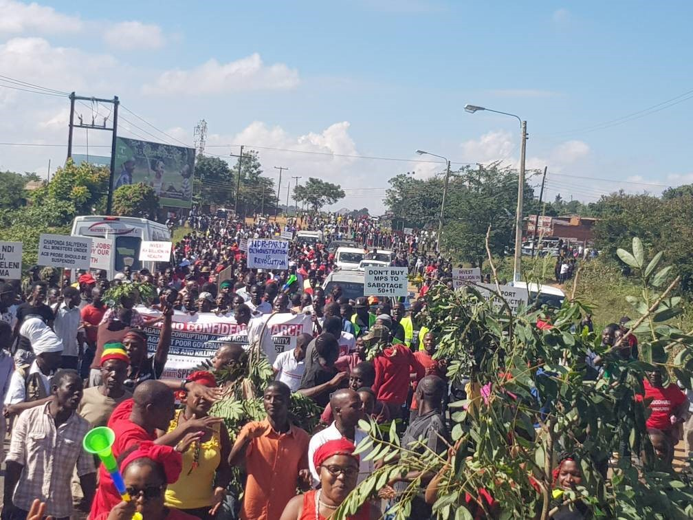 Fed up with corruption, civil society organises Malawians to take to the streets