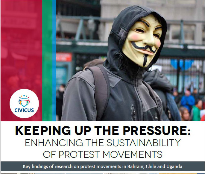Keeping up the pressure: enhancing the sustainability of protest movements
