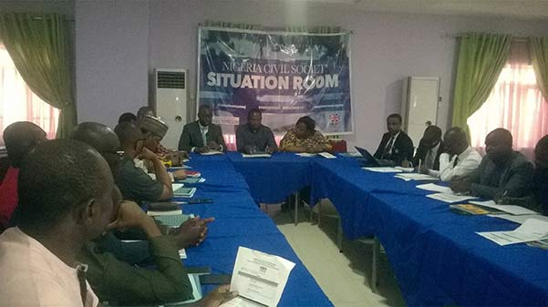 Nigeria Civil Society, Situation Room