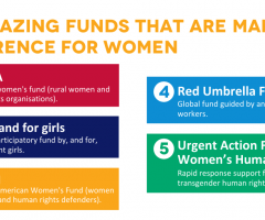 5 amazing funds that are making a difference for women