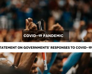 CIVICUS : Les États doivent placer les droits de l'homme au centre de toutes les réponses au COVID-19