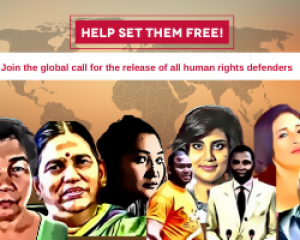 An Urgent Call to Release Human Rights Defenders in Honour of Nelson Mandela Day