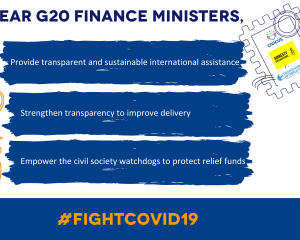 Open letter to the G20 Finance Ministers