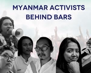 Myanmar: Activists behind bars
