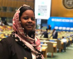 SUDAN: Young activists show climate solidarity through drought, floods and tears