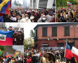 Concerns over violent repression of protests in Latin America and the Caribbean