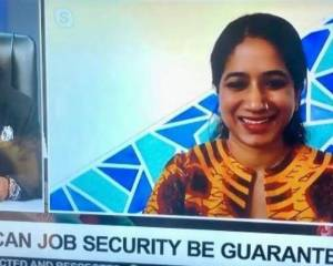 'Can job security be guaranteed?' Interview with Lysa John