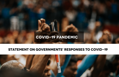 CIVICUS: States should put human rights at the centre of all responses to COVID-19