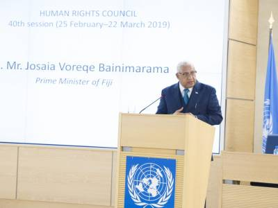 Fiji's review at the Human Rights Council highlights lack of progress on civic freedoms