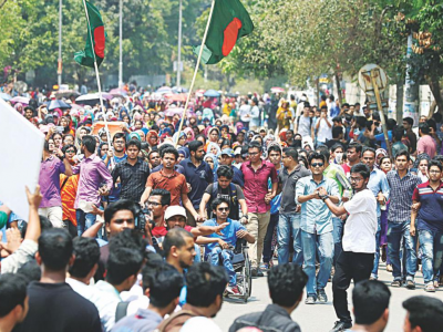 Perpetrators of violence against protesters and journalists in Bangladesh must be held accountable