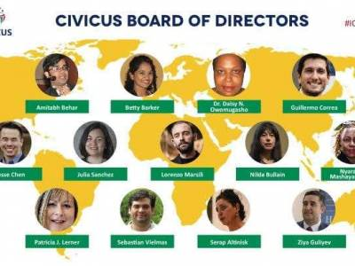 CIVICUS alliance new board members