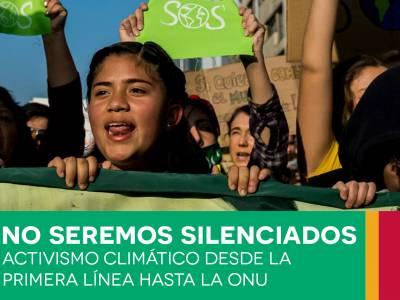 Nuevo documento sobre las restricciones que sufren los activistas que luchan contra el cambio climático