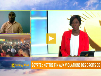 Interview with AfricaNews: Concern over human rights violations in Egypt