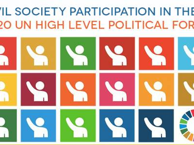 Joint letter to UN Member States: Ensure meaningful virtual participation in 2020 review of the SDGs