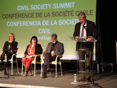 CSOs call for action for inclusive Sustainable Development process at Civil Society Summit in Belgrade