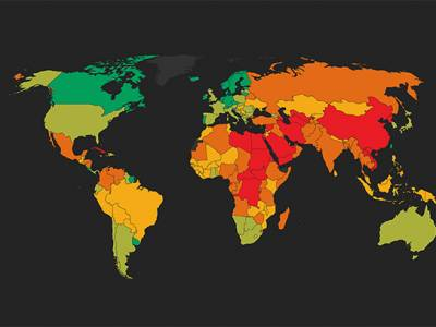 New report: Twice as many people live in repressed countries compared to a year ago