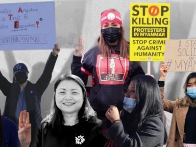 Luchando por la democracia desde lejos: activistas de Myanmar en la diáspora