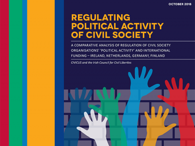 New Paper: Regulating Political Activity of Civil Society -- A look at 4 EU countries