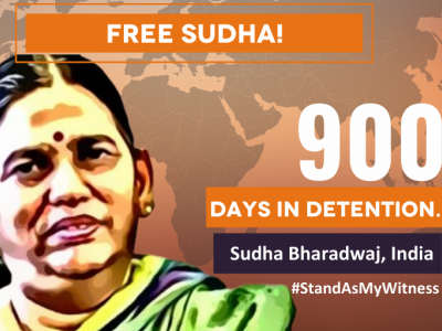 Indian activist Sudha Bharadwaj spends 900 days in detention