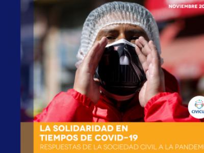 Los Estados deben aliarse con la sociedad civil porque la segunda ola de la COVID-19 ya azota a los países