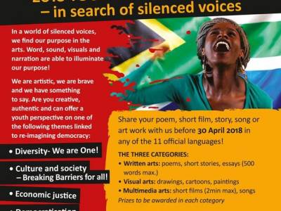 Through Arts and Imagination: 2018 Youth Day Celebration - in search of silenced voices