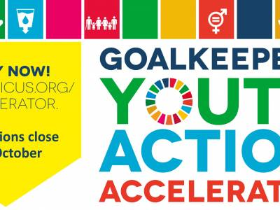 Ground-breaking new global initiative to accelerate youth activism in the digital age
