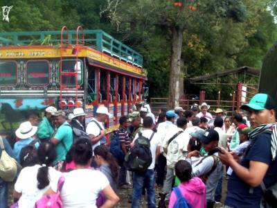 Colombia: Rise for Climate marchers unlawfully obstructed