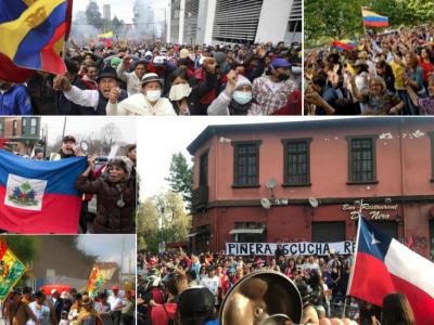 Preocupación por la represión violenta de las protestas en América Latina y el Caribe