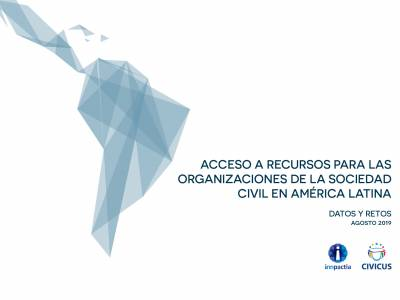 Sociedad civil en América Latina recibe escasa financiación y apoyo para realizar trabajo crítico de cambio político y social