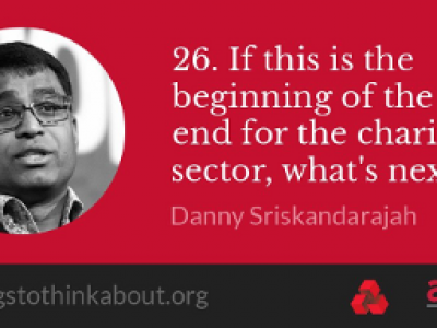 Danny Sriskandarajah: Is it the beginning of the end for the charity sector?