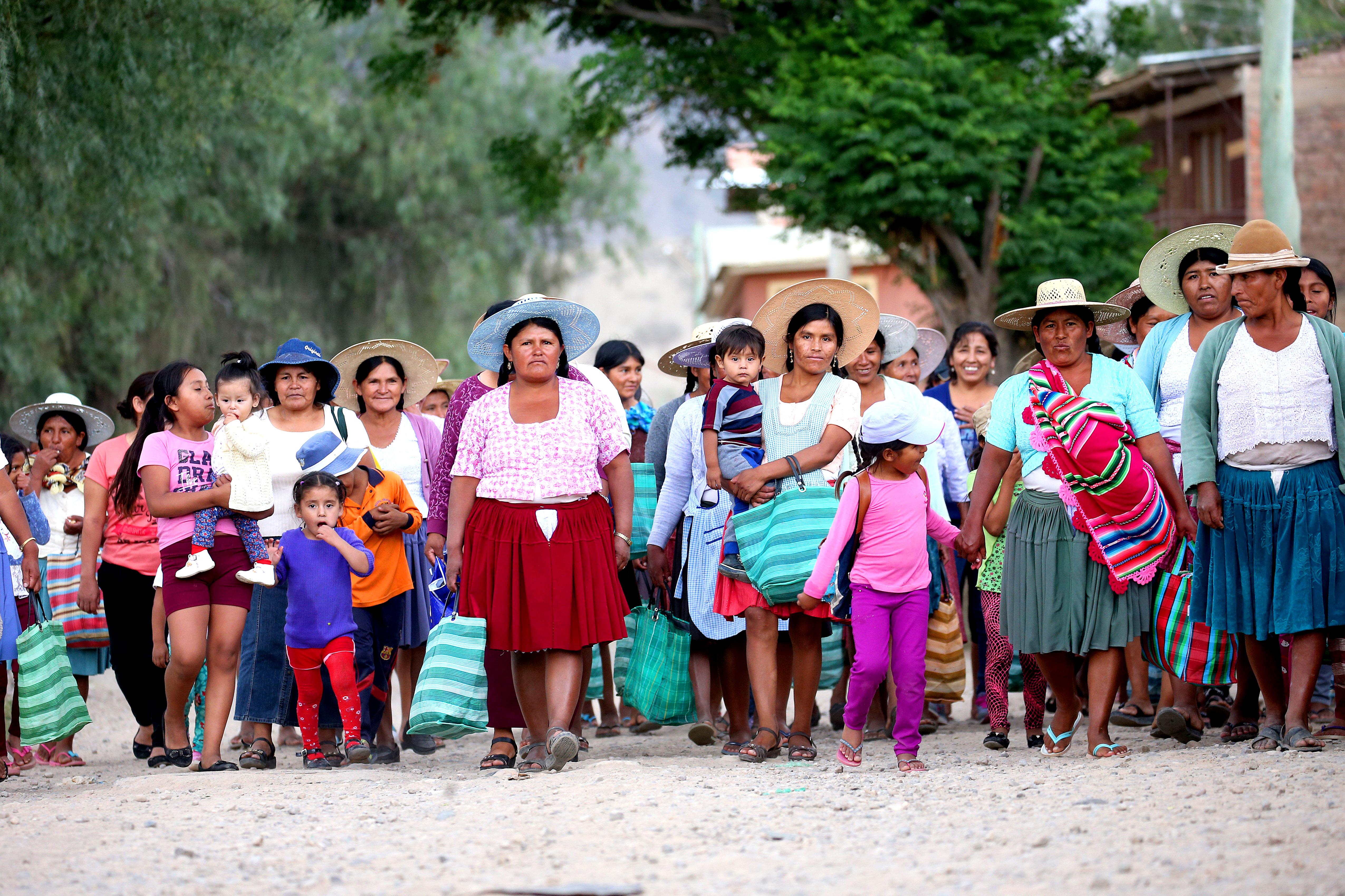 BOLIVIA: Limitación de los espaciosa salvo de la cooptación o la represión estatal