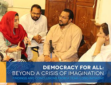 Reimaginar la democracia exige mayor participación en las decisiones políticas y económicas
